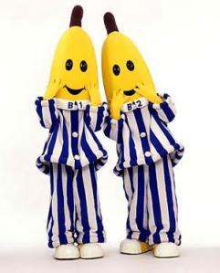 Bananas in Pyjamas